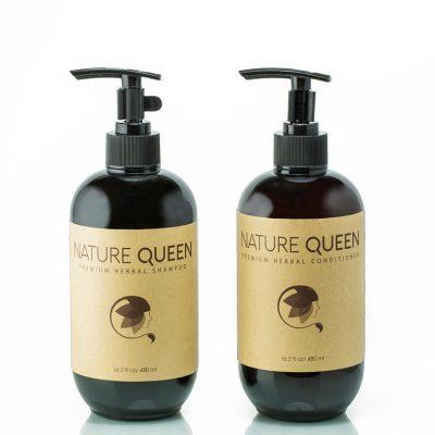 Nature Queen bộ sản phẩm gội xả 480ml
