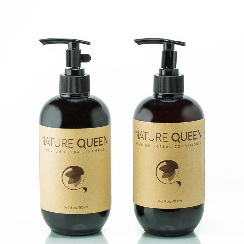 Nature Queen bộ sản phẩm gội xả 480ml 3