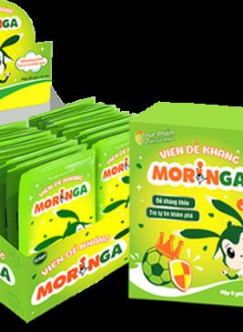 viên đề kháng moringa