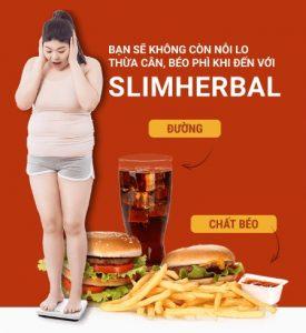 không còn nỗi lo béo phì với giảm cân slim herbal