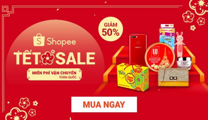 Shopee Sale Tet 2020