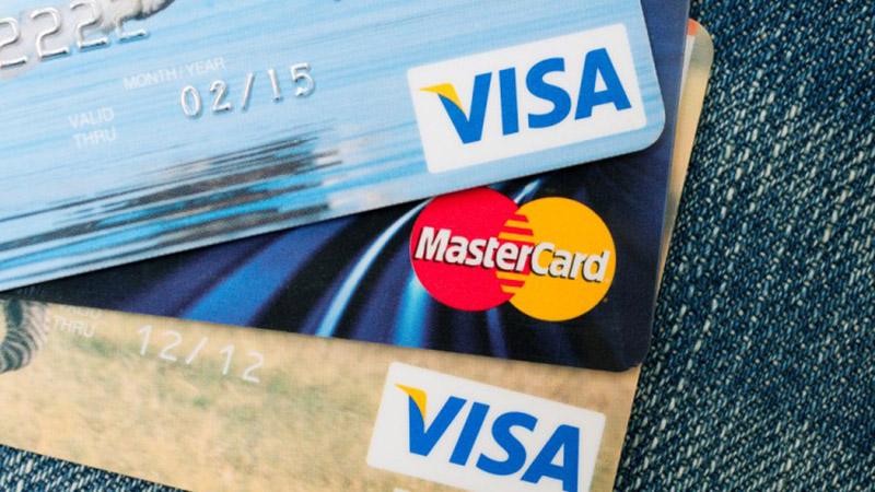thẻ mastercard và thẻ visa