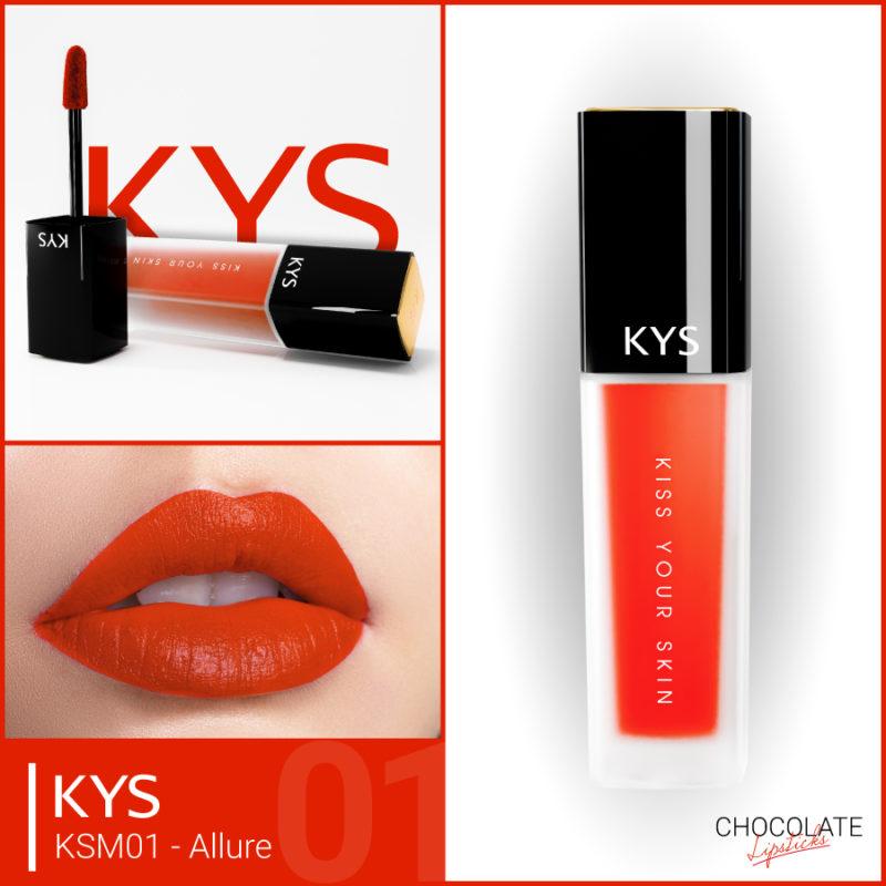 Đánh giá son KYS chocolate 92%, khử chì làm hồng môi, giá bao nhiêu, mua ở đâu? 2