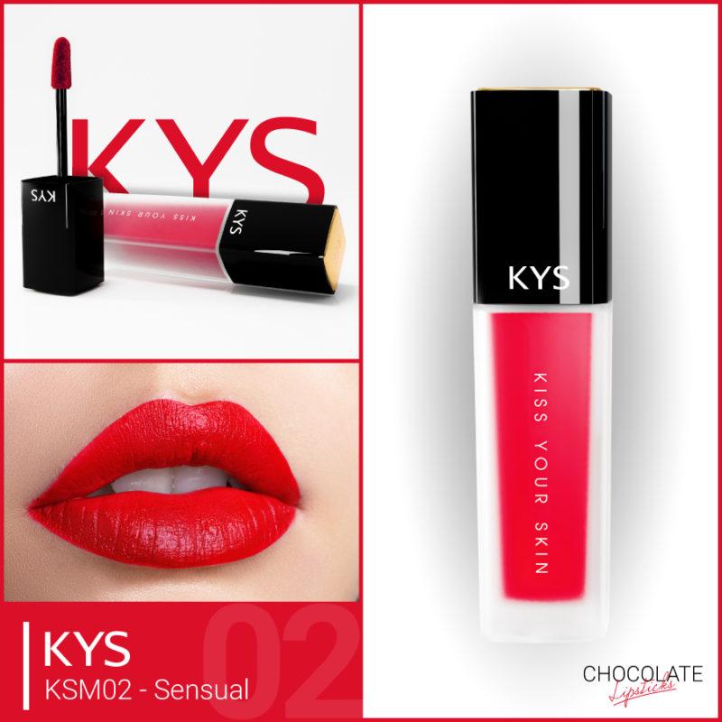 Đánh giá son KYS chocolate 92%, khử chì làm hồng môi, giá bao nhiêu, mua ở đâu? 5