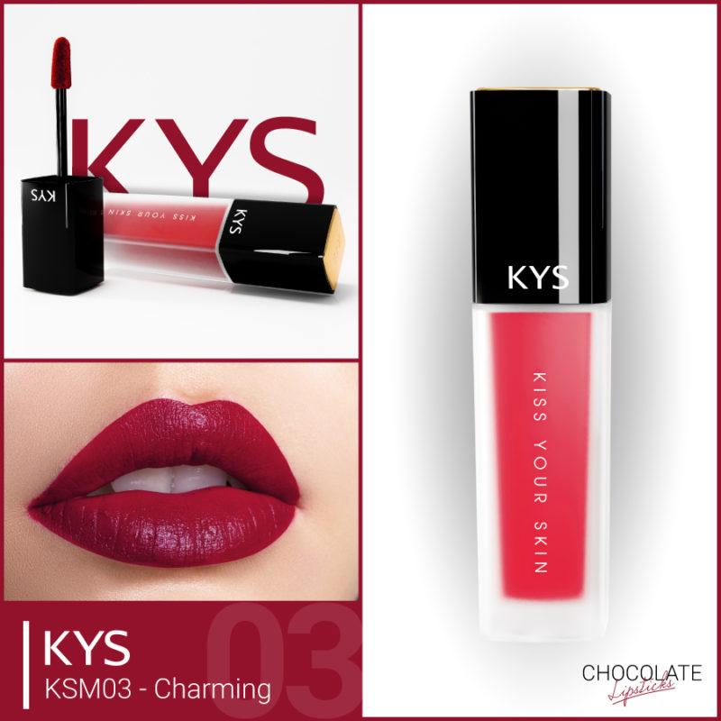 Đánh giá son KYS chocolate 92%, khử chì làm hồng môi, giá bao nhiêu, mua ở đâu? 9