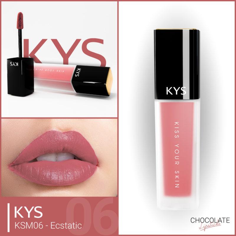 Đánh giá son KYS chocolate 92%, khử chì làm hồng môi, giá bao nhiêu, mua ở đâu? 21