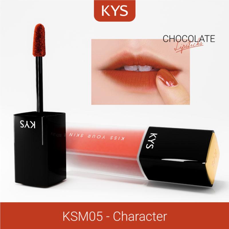 Đánh giá son KYS chocolate 92%, khử chì làm hồng môi, giá bao nhiêu, mua ở đâu? 18