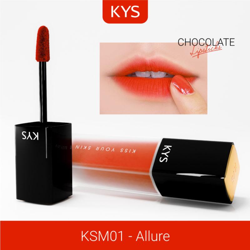 Đánh giá son KYS chocolate 92%, khử chì làm hồng môi, giá bao nhiêu, mua ở đâu? 3