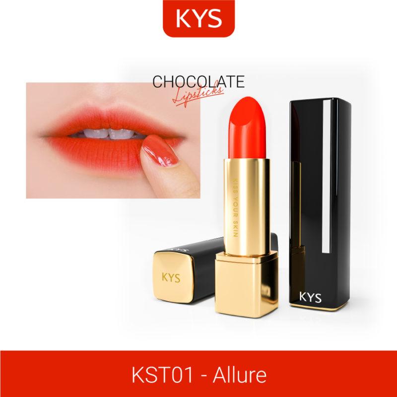 Đánh giá son KYS chocolate 92%, khử chì làm hồng môi, giá bao nhiêu, mua ở đâu? 30