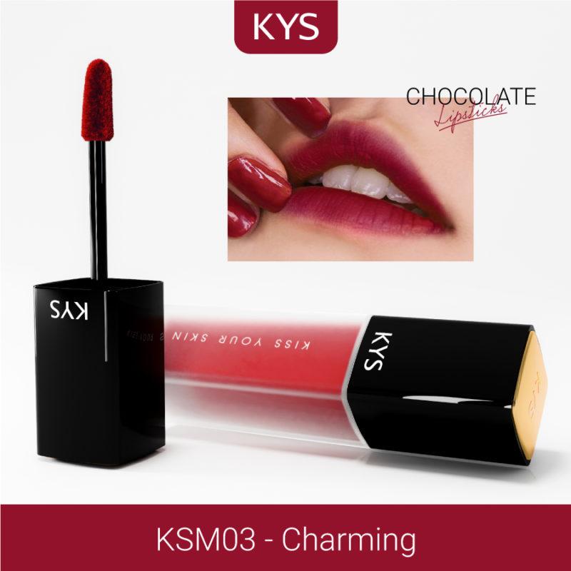 Đánh giá son KYS chocolate 92%, khử chì làm hồng môi, giá bao nhiêu, mua ở đâu? 10