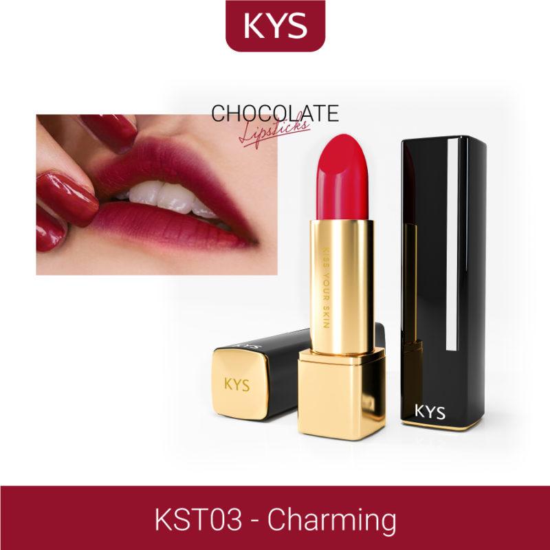 Đánh giá son KYS chocolate 92%, khử chì làm hồng môi, giá bao nhiêu, mua ở đâu? 38