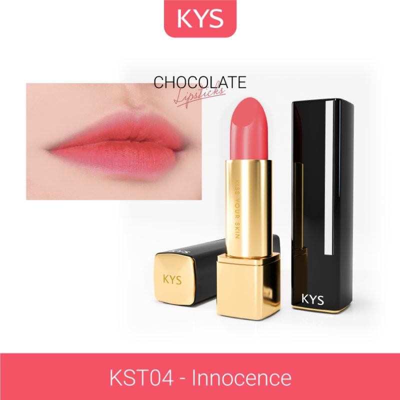 Đánh giá son KYS chocolate 92%, khử chì làm hồng môi, giá bao nhiêu, mua ở đâu? 42