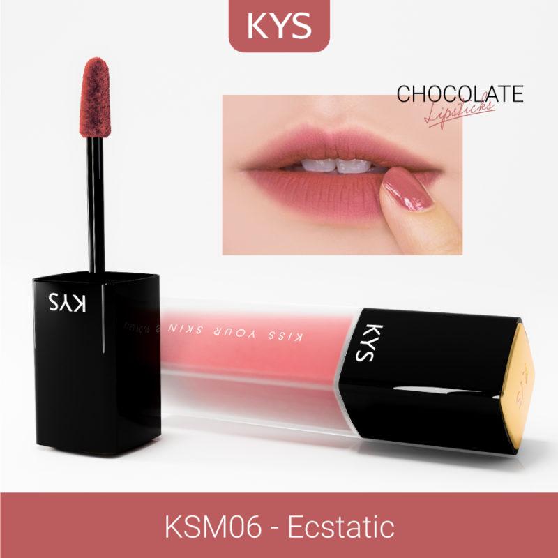 Đánh giá son KYS chocolate 92%, khử chì làm hồng môi, giá bao nhiêu, mua ở đâu? 22
