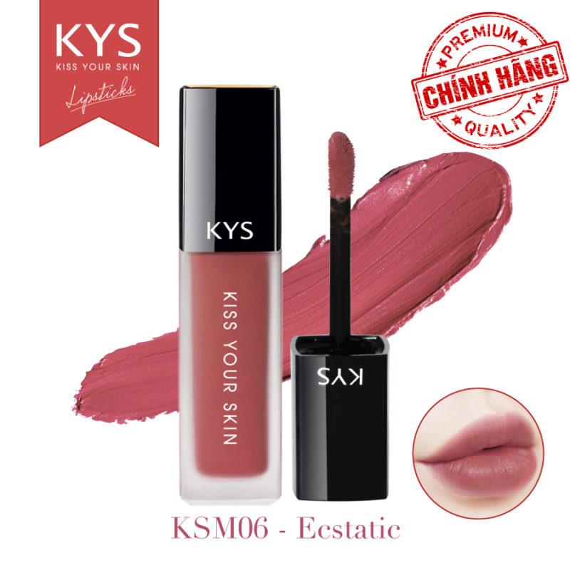Đánh giá son KYS chocolate 92%, khử chì làm hồng môi, giá bao nhiêu, mua ở đâu? 23