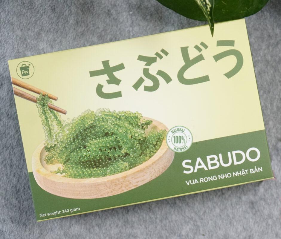 Rong nho Sabudo tách nước ăn có tốt không? Giá bao nhiêu? Mua ở đâu chính hãng?