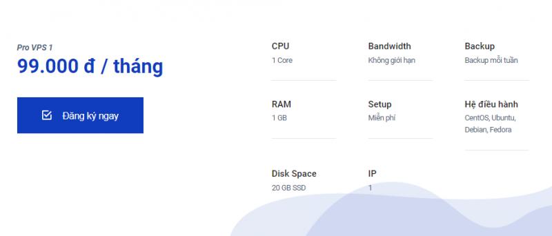 Mã giảm giá Azdigi SSD VPS