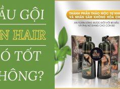 Dầu gội Sin Hair có tốt không? Giá bao nhiêu? Mua chính hãng ở đâu?
