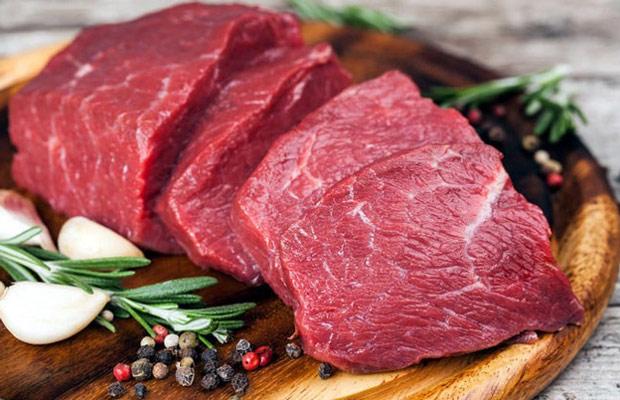 thịt bò ngăn ngừa tóc bạc sớm