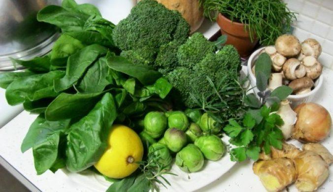 thực phẩm ngăn ngừa tóc bạc sớm