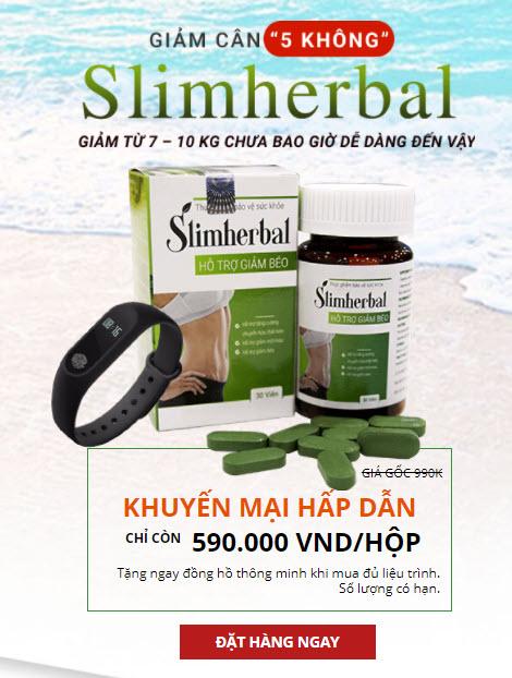 mua hàng chính hãng giảm cân slim herbal