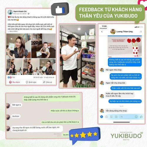 [Update 7/2021] Rong nho Yukibudo có tốt không? Giá bao nhiêu 1 hộp? Mua ở đâu chính hãng? 10