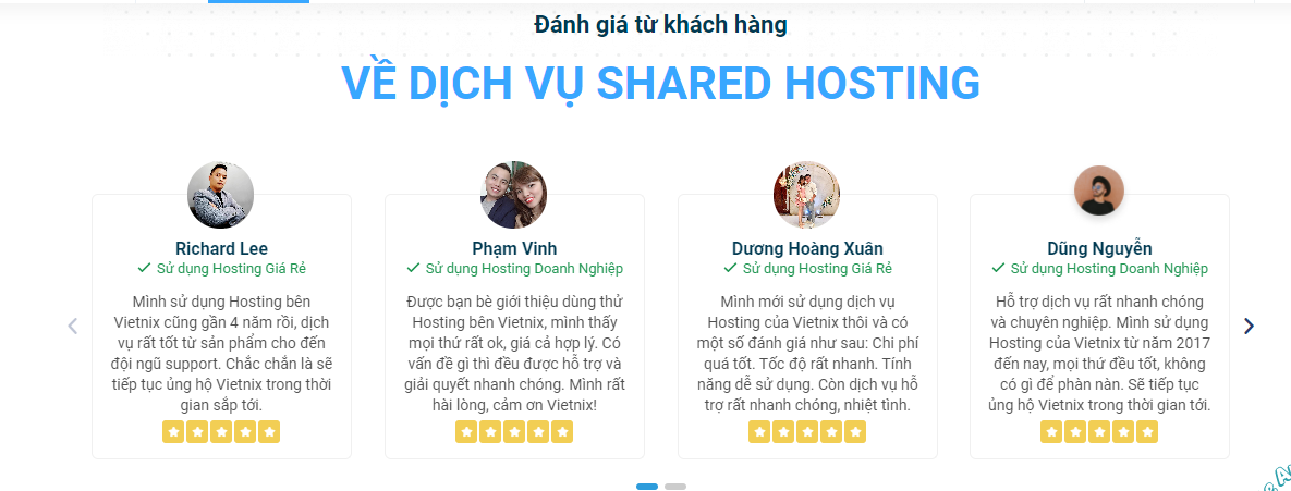 [Góc review] Đánh giá dịch vụ tại Vietnix 5