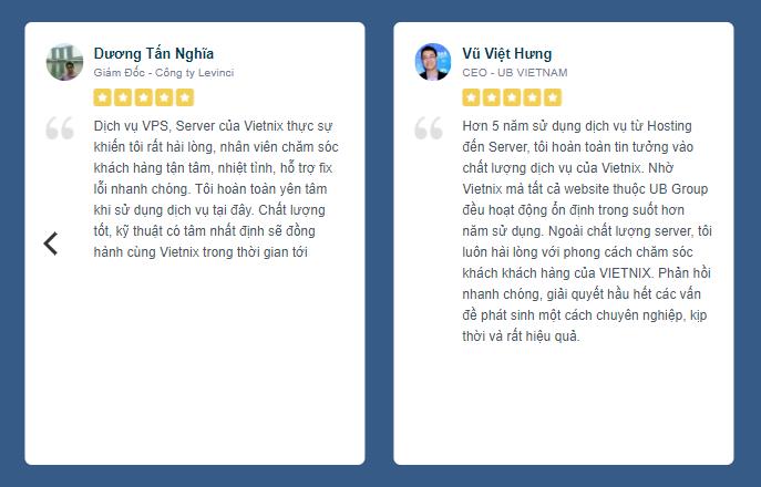 [Góc review] Đánh giá dịch vụ tại Vietnix 6