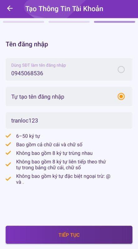 Hướng dẫn mở tài khoản TPBank online (2021) 11