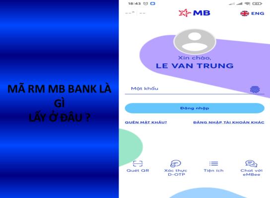 Mã rm mb bank
