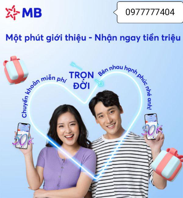 Mã giới thiệu MB Bank