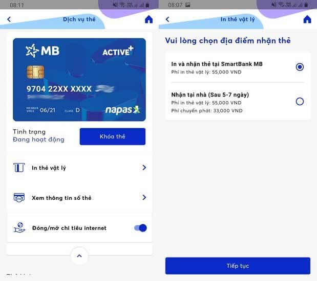 [Hướng dẫn] Đăng kí phát hành thẻ Mb bank online(2021) 8
