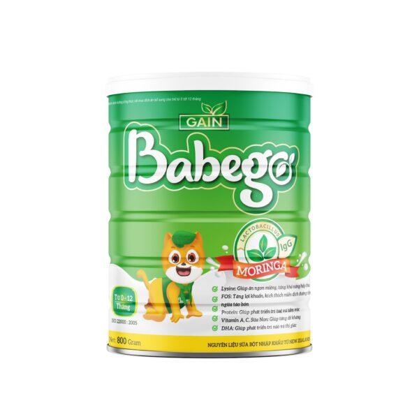Sữa Babego (0-12 tháng) 800gr 1