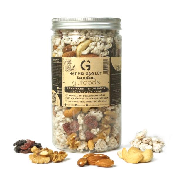 Hạt dinh dưỡng mix gạo lứt ăn kiêng GUfoods (250g) - Lành mạnh, Thơm ngon, Tốt cho sức khoẻ 1