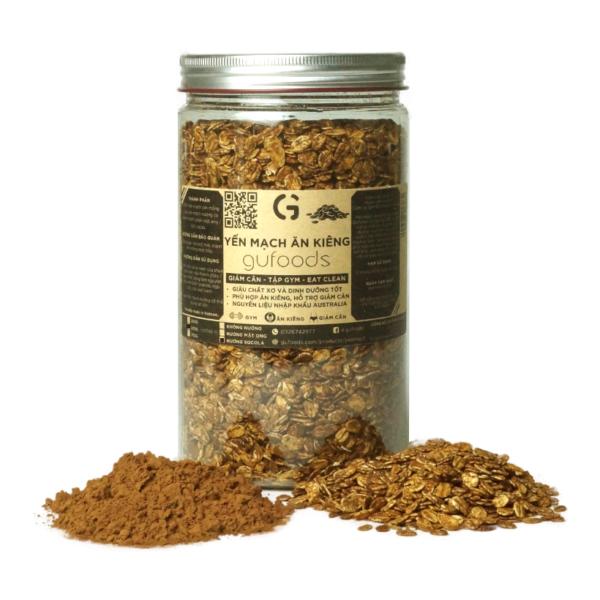 Yến mạch nướng socola GUfoods (500g) 1