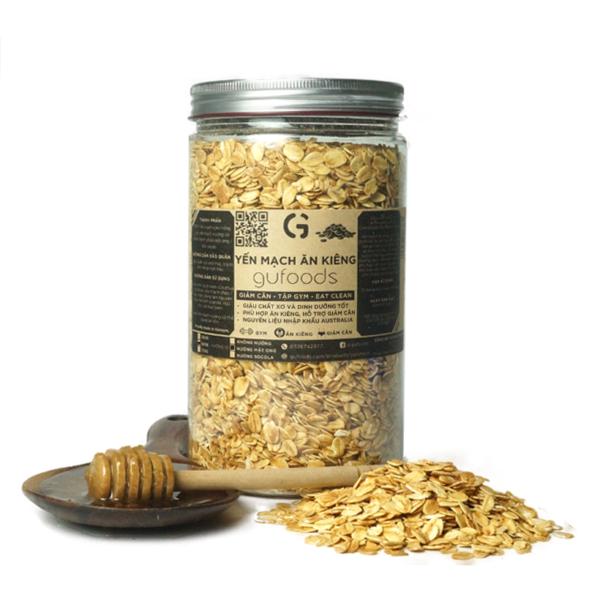 Yến mạch nướng mật ong GUfoods (500g) 1