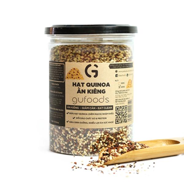 Hạt quinoa ăn kiêng GUfoods (400g) 1