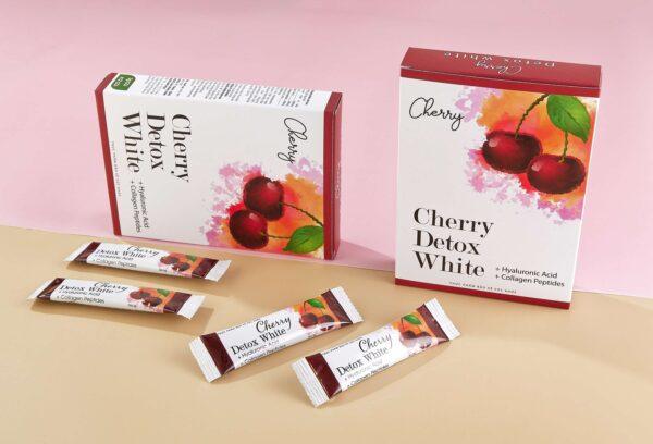 Cherry Detox White (01 hộp 12 gói, 1 gói 4g) 1