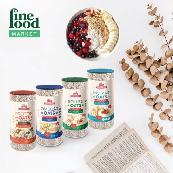 Combo Dinh Dưỡng 4 Loại Yến Mạch RED TRACTOR FOODS 1