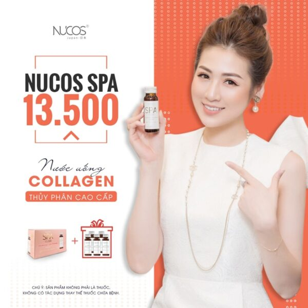 Nước uống Collagen NUCOS SPA 13.500 1