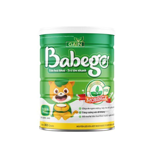Sữa Babego (12-36 tháng) 400gr 1