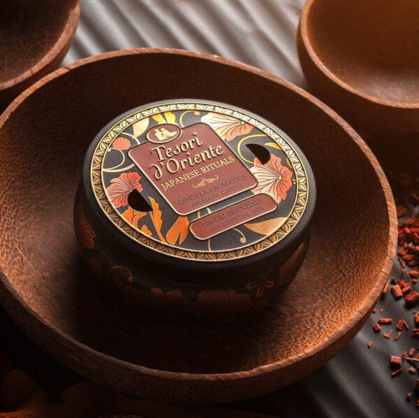 Nến Thơm Tesori d'Oriente mùi Hoa Trà Nhật Bản (200gr)200gr 1