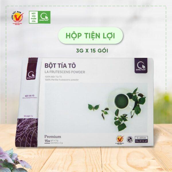 Bột Tía Tô 15 Gói - Bột rau Quảng Thanh 1