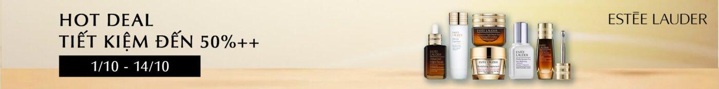 Estee Lauder khuyến mãi: 50% OFF, Mua 1 Tặng 1, Quà Tặng, Freeship 2