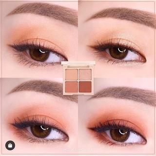Phấn mắt 4 màu Holika Holika Nudrop Shadow Palette màu 07 Tanned Coral 6g_15249 1