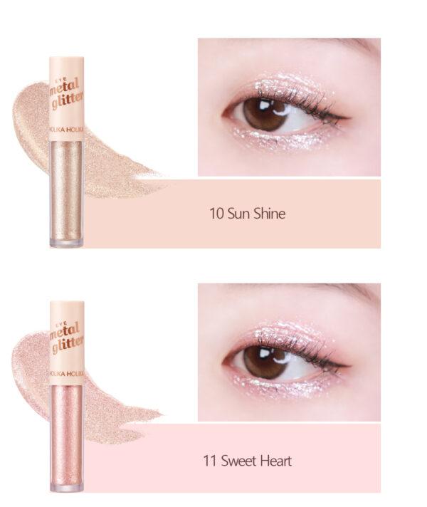 Nhũ mắt đa năng Holika Holika Eye Metal Glitter Sun Shine 3,3g 1