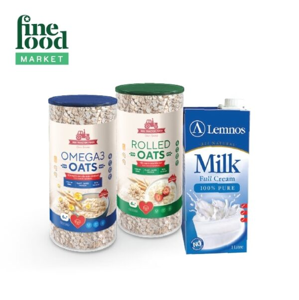 Combo Yến Mạch RED TRACTOR FOODS Chuẩn Dáng 1