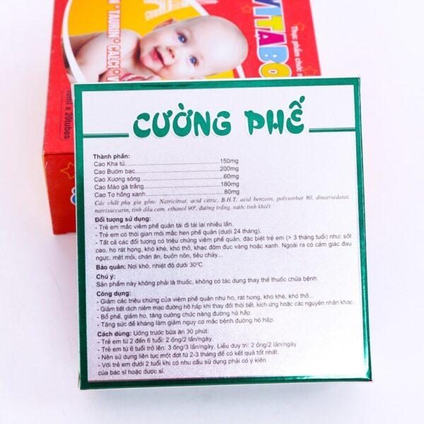 Trị ho Cường phế - Combo 6 hộp 1