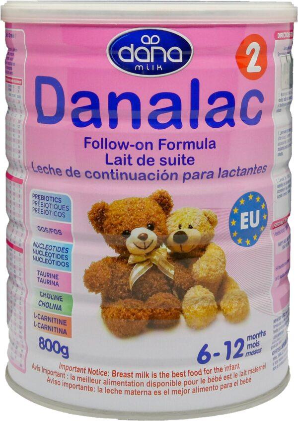 Sữa Bột DANALAC Số 2 - Hộp 800g 1