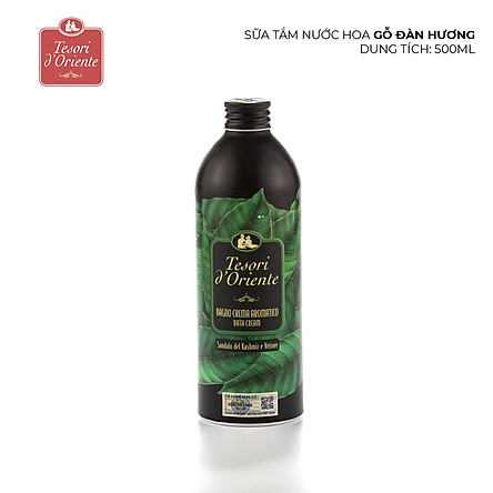 Sữa tắm nước hoa Gỗ Đàn Hương Tesori D'Oriente 500ml 1