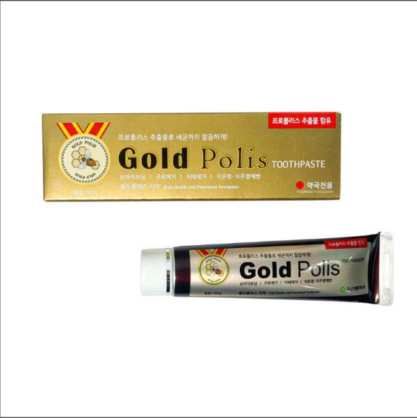 Kem đánh răng cao cấp Gold Polis 180g - Lazimall 1